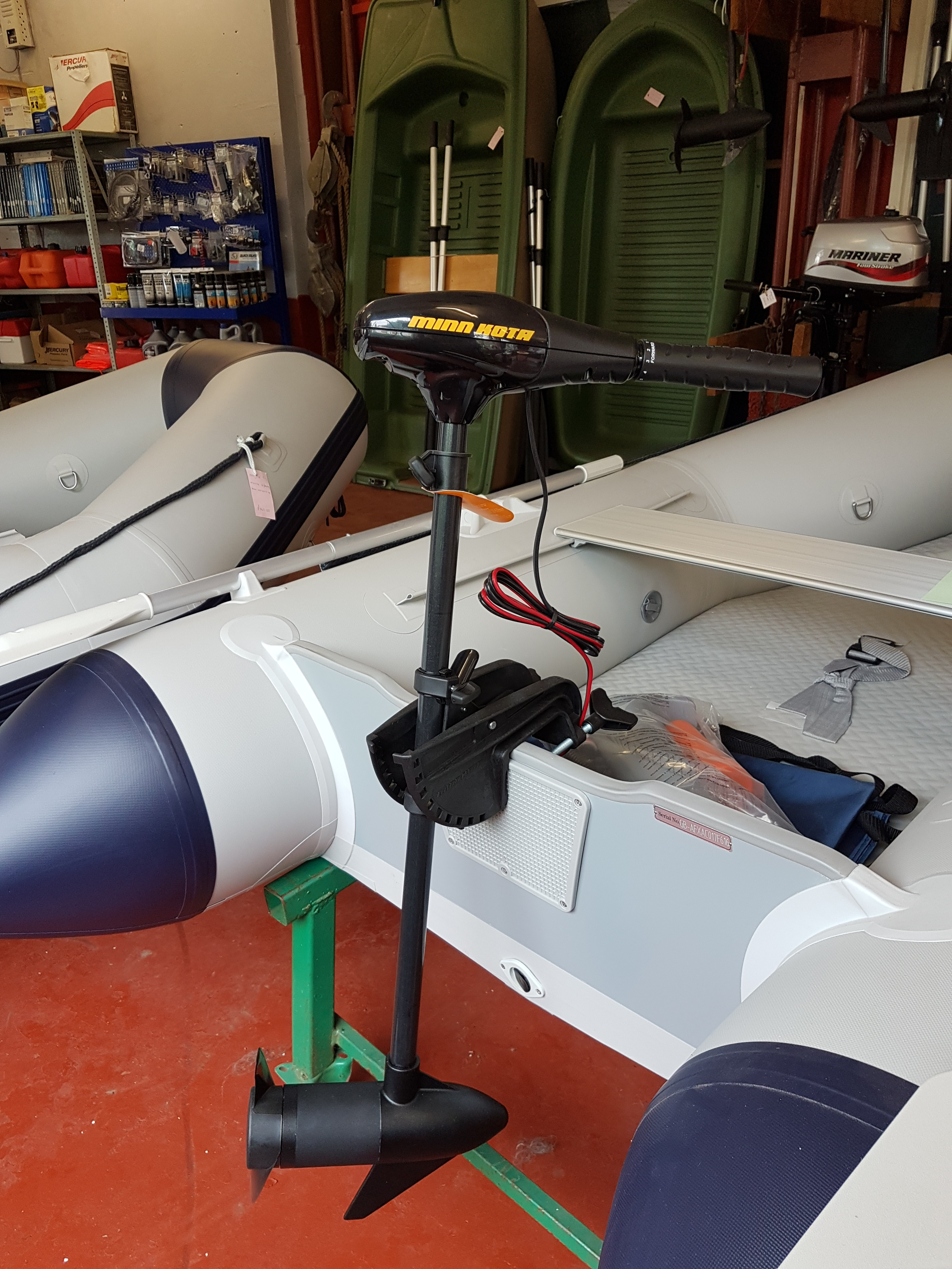 Motors new and used boats kayaks for sale bristol for Minn kota electric motor for sale